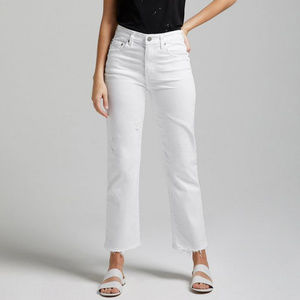 AG 'The Rhett' Vintage High-Waisted Straight Jeans
